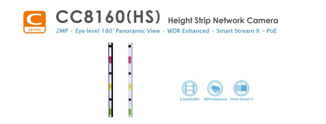 Height line strip camera
